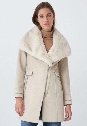 LISBOA - Short coat - beige