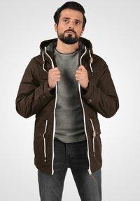 Solid - TILAS - Winter jacket - dark brown - 0