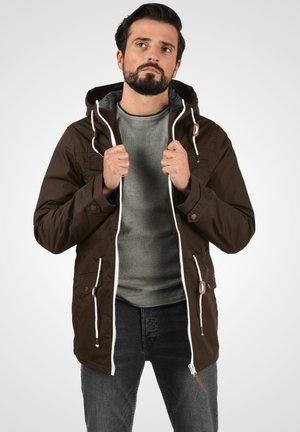 TILAS - Winter jacket - dark brown
