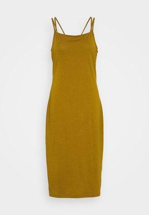 Jersey dress - brown