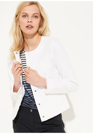 LANGARM - Denim jacket - ivory