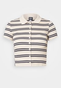 BDG Urban Outfitters - STRIPED COLLARED - Button-down blouse - black/beige - 4