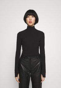 HUGO - NINELLI - Long sleeved top - black - 0