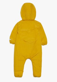 Smitten Organic - SNOW SUIT BABY  - Snowsuit - yellow/khaki - 1