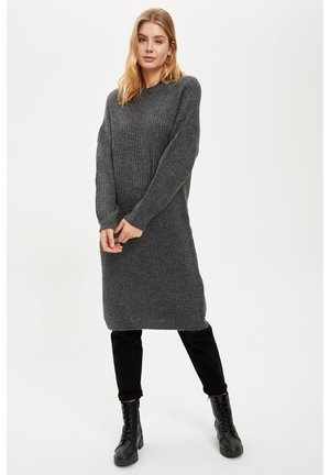 Jumper dress - anthracite