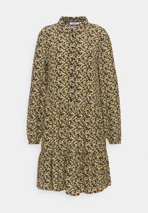 WILDA MOROCCO DRESS - Shirt dress - blk flower