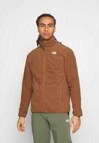 The North Face - GLACIER FULL ZIP - Fleece jacket - pinecone brown - 0