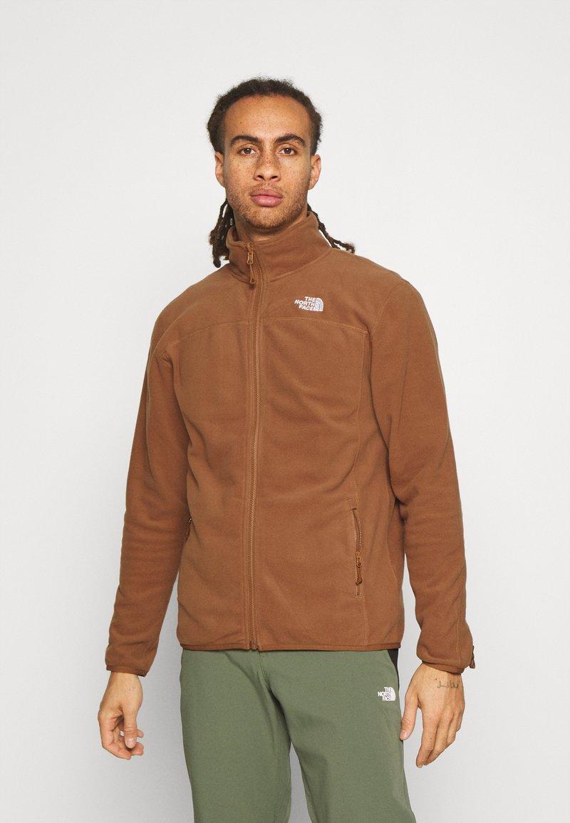 The North Face - GLACIER FULL ZIP - Fleece jacket - pinecone brown