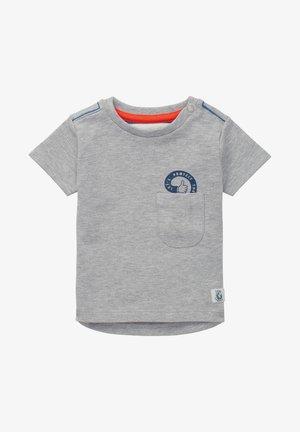 TIJNJE - Print T-shirt - grey mel