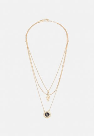 PCSNOKE COMBI NECKLACE - Ketting - gold-coloured