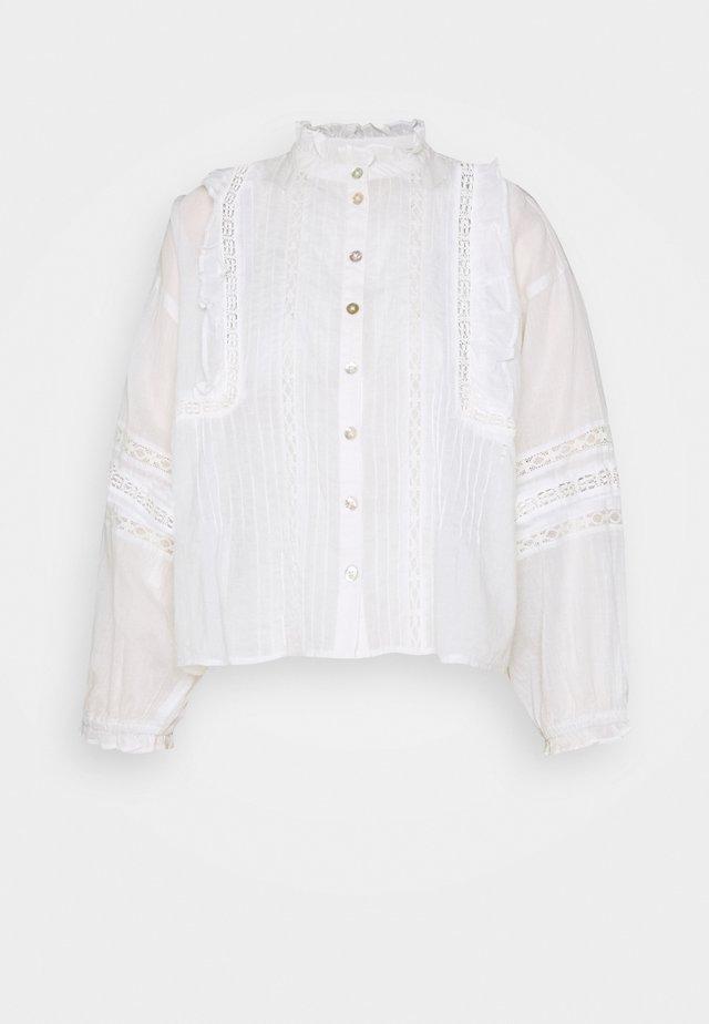 DELILAH BOHO BLOUSE - Pusero - white