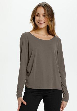 Long sleeved top - major brown