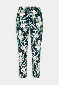 Vero Moda Petite - VMSIMPLY EASY LOOSE PANT - Trousers - navy blazer/vibe - 1