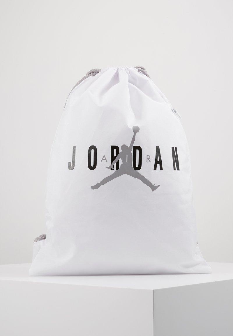 Jordan - GYM SACK UNISEX - Drawstring sports bag - white