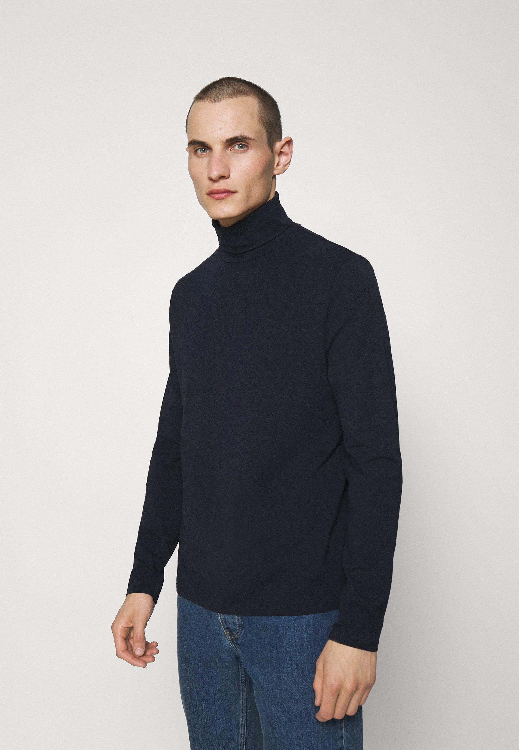 Men TOM ROLLER NECK TEE - Long sleeved top