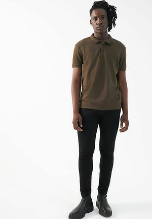 SHORT SLEEVES - Polo shirt - bronze