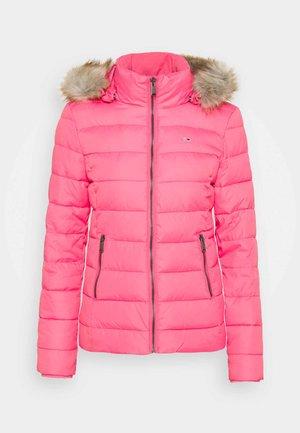 ESSENTIAL HOODED - Vinterjakke - glamour pink