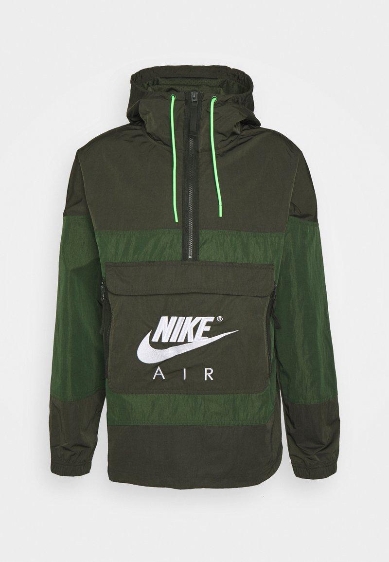 Nike Sportswear - AIR ANORAK - Windbreaker - sequoia/carbon green/white
