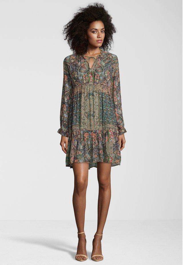 Korte jurk - multicolour