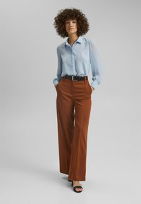 Esprit Collection - Button-down blouse - pastel blue - 1