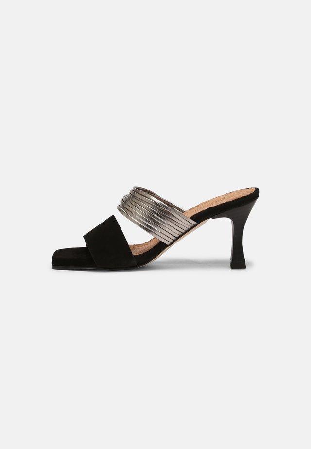 ANA - Sandaler - black/silver