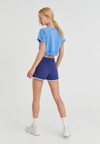 PULL&BEAR - Print T-shirt - light blue - 2
