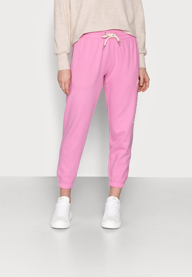 GAP Petite - EASY - Tracksuit bottoms - pink
