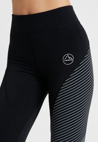La Sportiva - SUPERSONIC PANT  - Punčochy - black/slate - 5