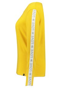 Key Largo - WLS CLAUDIA ROUND - Long sleeved top - yellow - 2