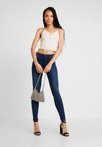 Noisy May - NMJEN SHAPER - Jeans Skinny Fit - dark blue denim - 1