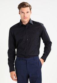 OLYMP Luxor - NEW KENT - Kostymskjorta - schwarz - 0