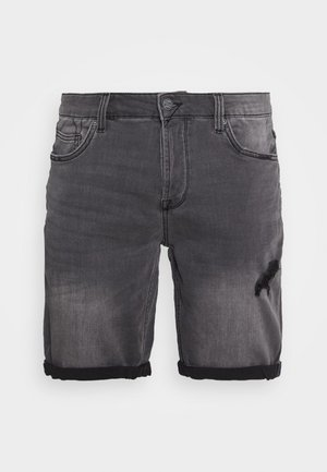 ONSPLY REG - Denim shorts - grey denim