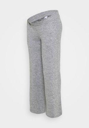MLILA WIDE PANT - Broek - medium grey melange