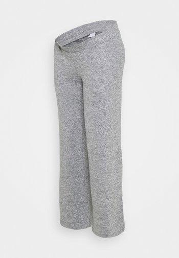 MLILA WIDE PANT - Bukse - medium grey melange