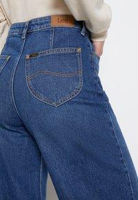 Lee - STELLA A LINE - Široké džíny - dark buxton - 5