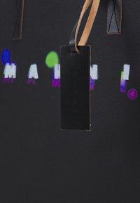 Marni - TRIBECA SHOPPING BAG UNISEX - Tote bag - black - 5