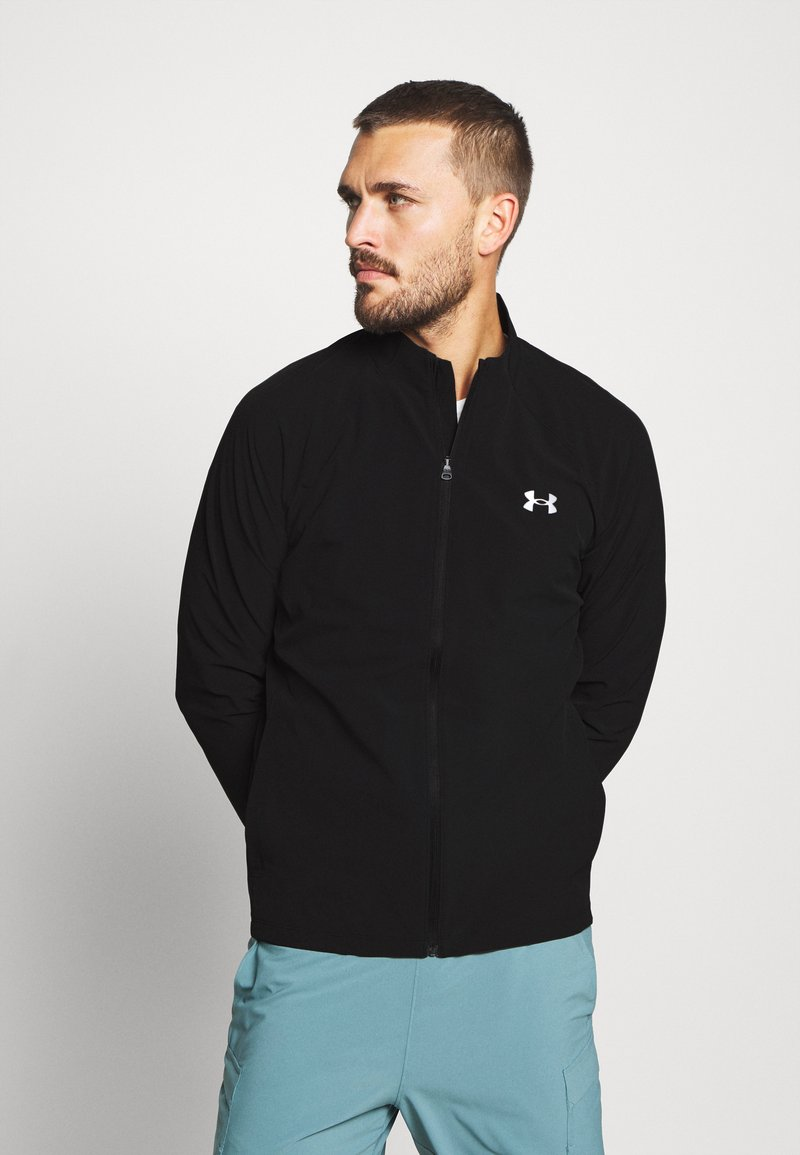 Under Armour - LAUNCH 3.0 STORM JACKET - Chaqueta de deporte - black/black/reflective