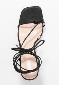 BEBO - RICHIE - Sandaler med høye hæler - black - 3
