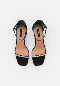 ONLY SHOES - ONLALYX LIFE STONE  - Sandaler med høye hæler - black - 4