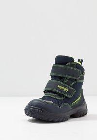 Superfit - SNOWCAT - Botas para la nieve - blau/grün - 2