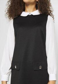 Wallis Petite - PETITES PONTE POCKET DRESS - Shift dress - mono - 5