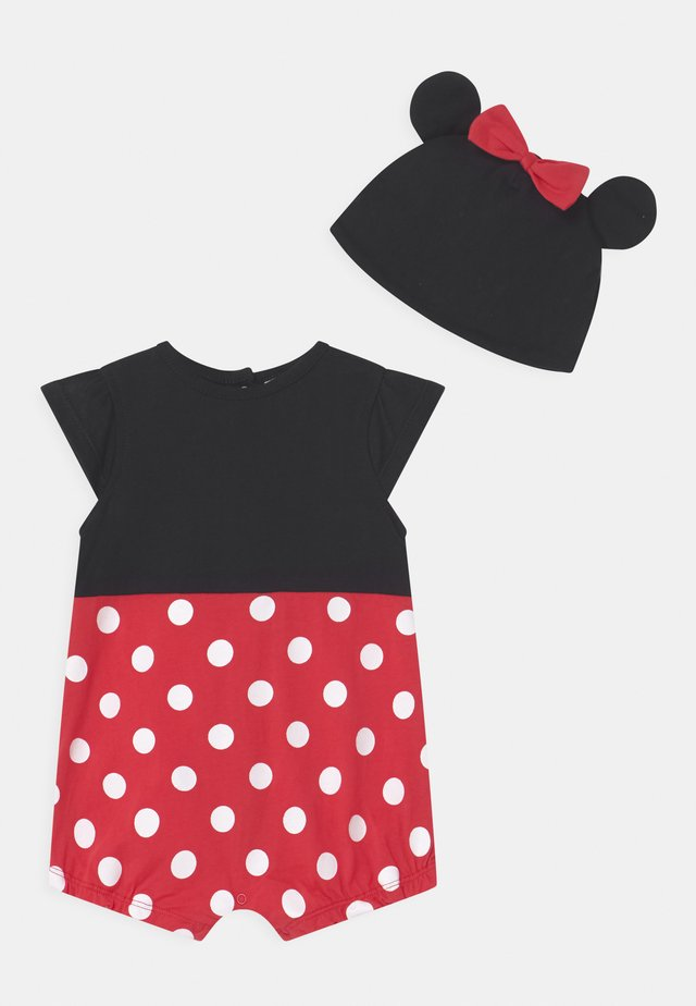 MINNIE SET - Gorro - black bean