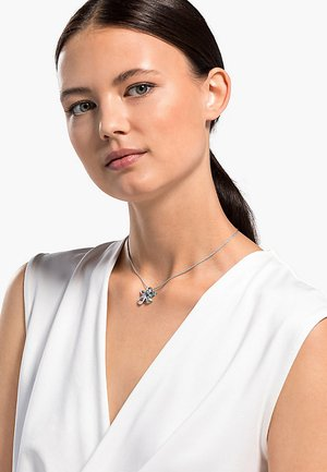 SUNNY NECKLACE, LIGHT MULTI-COLORED, RHODIUM PLATED - Necklace - silber