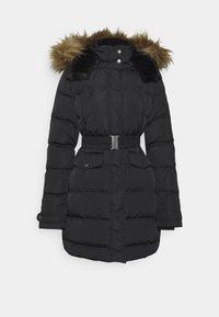 MOLI - Kabát zprachového peří - black
