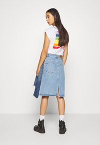 Diesel - TOBY SKIRT - Denim skirt - light blue denim - 2