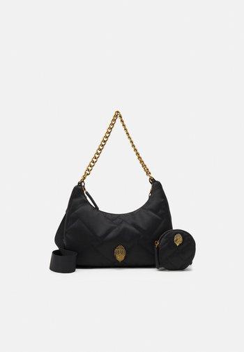 SUSTAINABLE MULTI CROSS BODY - Handbag - black