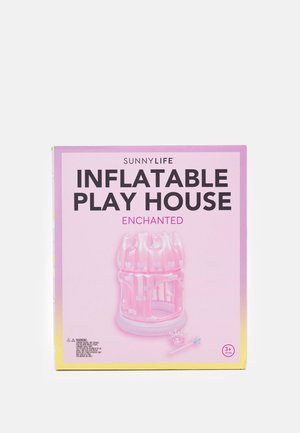 INFLATABLE PLAY HOUSE ENCHANTED  UNISEX - Lelu - pink