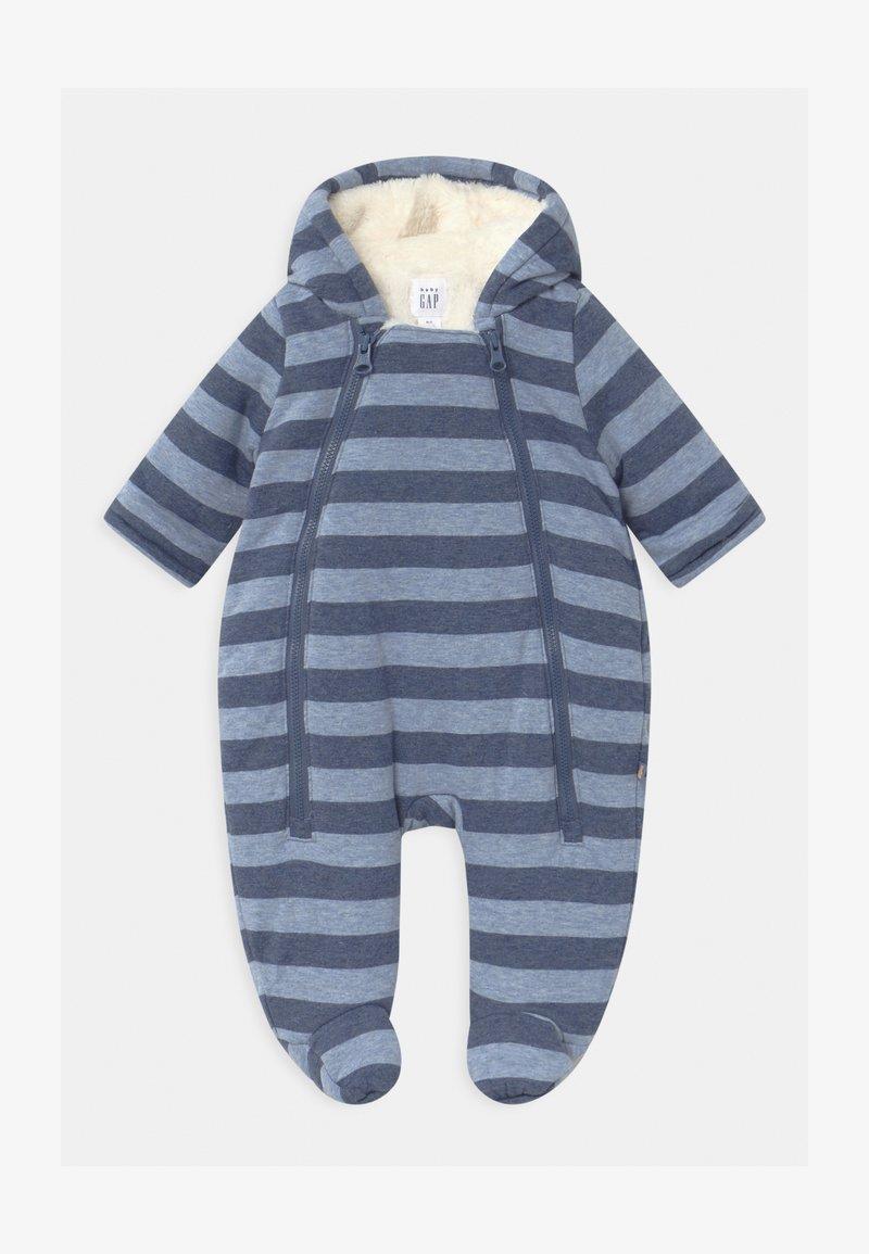 GAP - ZIP - Jumpsuit - blue heather