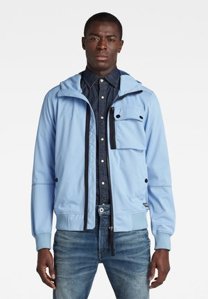 DESERT STORM SOFTSHELL - Waterproof jacket - delta blue/imperial blue