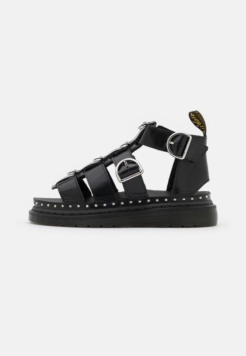 Dr. Martens - MACKAYE - Platform sandals - black buttero